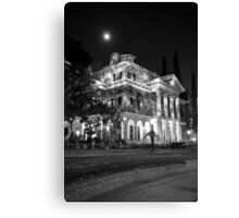 Haunted Mansion - Night Canvas Print
