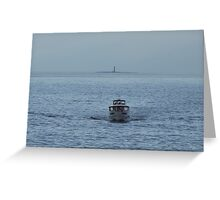 coming home, Kennebunkport Greeting Card
