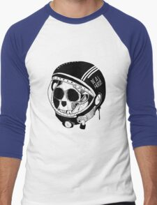 BE A HERO ! - Black - Men's Baseball ¾ T-Shirt
