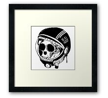 BE A HERO ! - Black - Framed Print