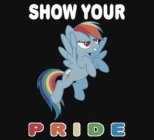 Show Your Pride Rainbow Dash by MrBlueSky