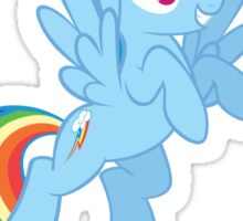 Show Your Pride Rainbow Dash Sticker