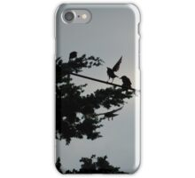 Birds On A Wire | Center Moriches, New York  iPhone Case/Skin