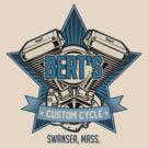 Bert's Custom Cycle by Jay Williams