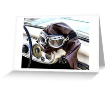 Let's Go For A Ride Darlin' Greeting Card
