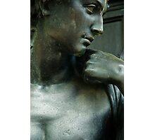 Statue in Brewer Fountain, Boston Common, Boston, MA Photographic Print