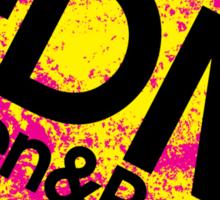 EDM (Electronic Dance Music) Listen & Party. Sticker