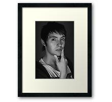 Classic Portrait Framed Print