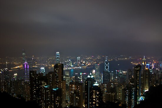 The Peak, Hong Kong by Simon Kirwin