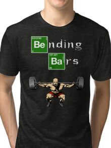 Breaking Bad Walter White Gym Motivation Tri-blend T-Shirt