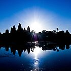 Blue Sunrise at Angkor Wat by Simon Kirwin