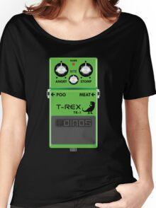 T-Rex Distortion Pedal Women's Relaxed Fit T-Shirt