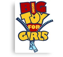 Big Toy for Girls inside Canvas Print