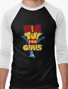 Big Toy for Girls inside Men's Baseball ¾ T-Shirt