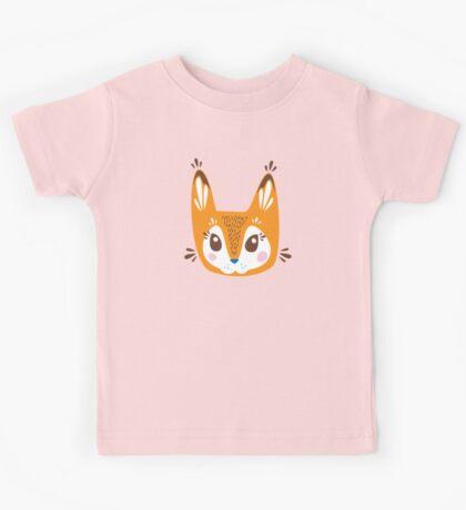 Cute Fox Kids Tee