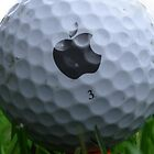 Apple golf ball iPhone 4/4s case by Jnhamilt