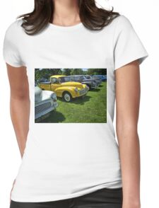 3 Morris Minor Van Womens Fitted T-Shirt