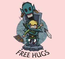 Zelda Wind Waker FREE HUGS  Baby Tee