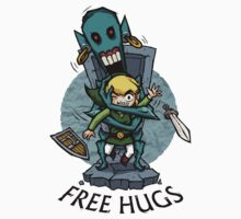 Legend of Zelda Wind Waker FREE HUGS T-Shirt Kids Clothes
