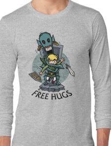 Zelda Wind Waker FREE HUGS  Long Sleeve T-Shirt