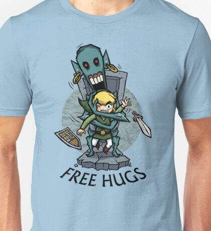 Zelda Wind Waker FREE HUGS  Unisex T-Shirt