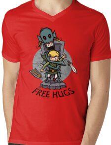 Zelda Wind Waker FREE HUGS  Mens V-Neck T-Shirt