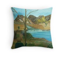 Water brings Life even in the Desert Throw Pillow