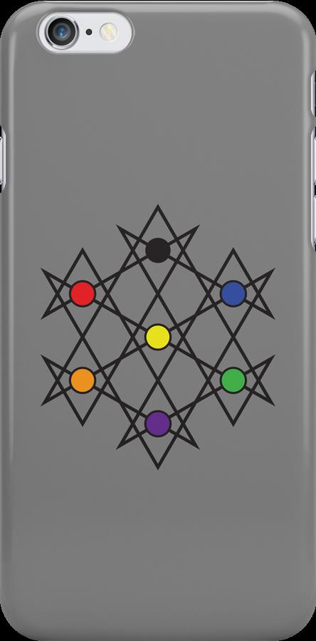 Unicursal hexagram by Obonic