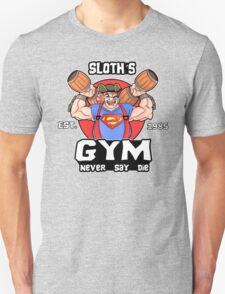 Funny Gym Sloth The Goonies Fitness T-Shirt