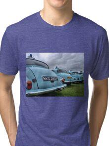 4 Morris Minor police cars Tri-blend T-Shirt