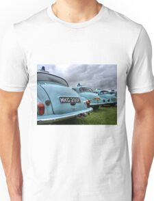 4 Morris Minor police cars Unisex T-Shirt