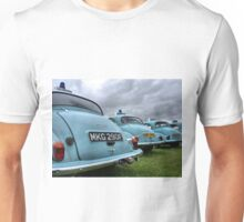 4 Morris Minor police cars Unisex T-Shirt