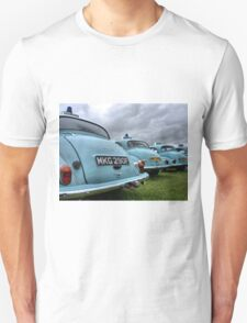 4 Morris Minor police cars T-Shirt