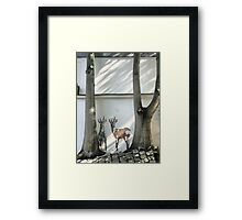 Montmartre - Being There ( 3 ) Framed Print