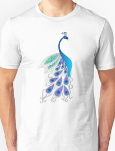 Bold Peacock T-Shirt