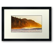 Shivers in the Mist Framed Print