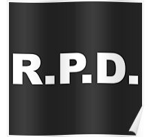 R.P.D. Poster