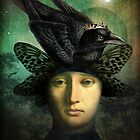 Der Rabenkönig (the raven king) by ChristianSchloe