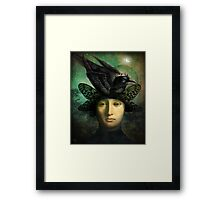 Der Rabenkönig (the raven king) Framed Print