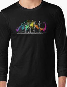 Street Art Rainbow Evolution Graffiti Long Sleeve T-Shirt
