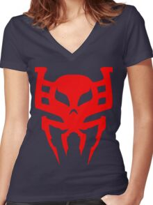 Spidey 2099 Women's Fitted V-Neck T-Shirt