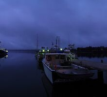 St Helens Harbour, Tasmania by Paul Gilbert