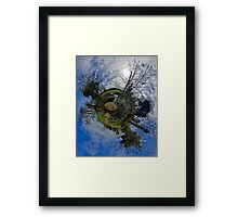 Stepping Stones Across Kilkeel River, County Down Framed Print