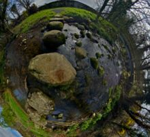 Stepping Stones Across Kilkeel River, County Down Sticker