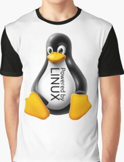 Powered by Linux Graphic T-Shirt