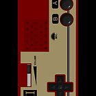 Nintendo Famicom by Luwee