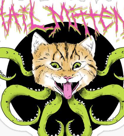 Hail Mittens Sticker
