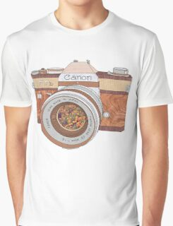 Wood Canon Graphic T-Shirt