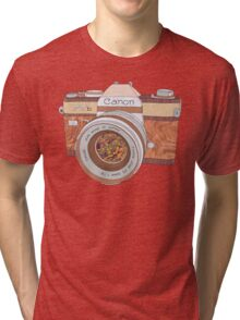 Wood Canon Tri-blend T-Shirt