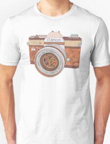 Wood Canon Unisex T-Shirt